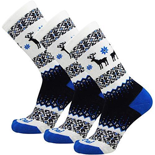 Pure Athlete Kids Merino Wool Ski Socks - Snow Sock for Boys, Girls, Children - Snowboard