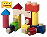 : HABA Fit Together Wooden Building Blocks 13 Piece Set (Made in Germany)
