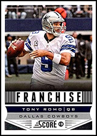 2013 Panini Score Franchise  275 Tony Romo NM-MT Dallas Cowboys Official  NFL Football 074fb2ce1