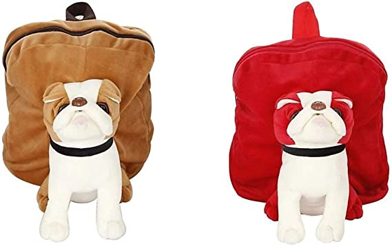 Punyah Creations Combo of Cute Soft Toy School Bag/Travelling Bag/Picnic Soft Toy Bag for Kids (Pack of 2)