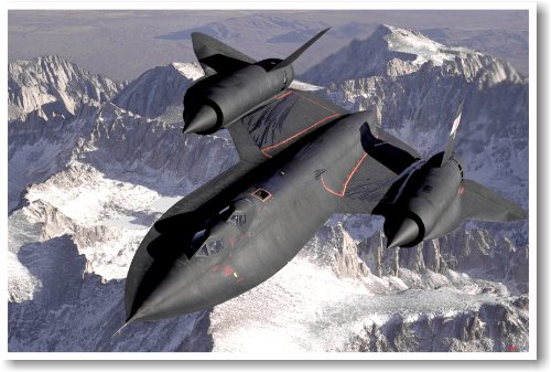 SR-71 Blackbird - NEW Military Us Air Force Poster
