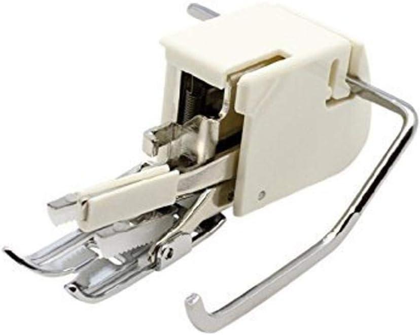 Alfa Prensatelas de doble arrastre para materiales extra gruesos, enmangue bajo, accesorio para máquina de coser, acero inoxidable y plástico: Amazon.es: Hogar