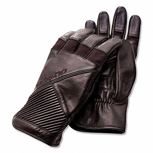 Olympia 106 Ringer Ladies Motorcycle Gloves (Black, Large)