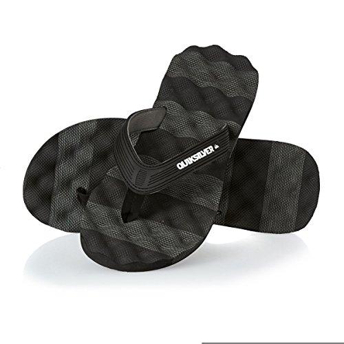 Niños black grey Massage Sintético Black De Quiksilver Material Sandalias Xx608T