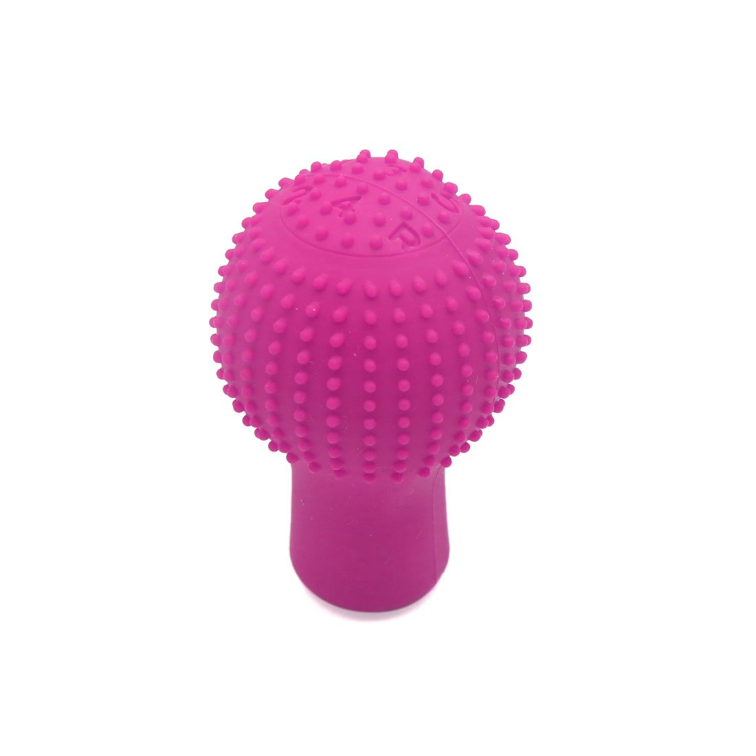 sourcingmap Pink Rubber Car Nonslip Round Hand Brake Head Cover Gear Shift Knob Stick Protector