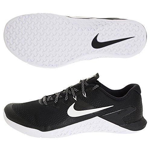 Nike Metcon 4 Mens Ah7453-003 Nero / Bianco