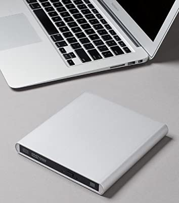 Archgon Aluminum External USB 3.0 Blu-Ray Player/DVD/CD Combo for Apple--MacBook Air, Pro, iMac, Mini by Archgon