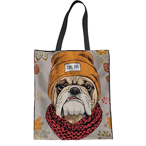 Showudesigns CC1965Z22, Borsa a mano donna Multicoloured Taglia unica dog 6