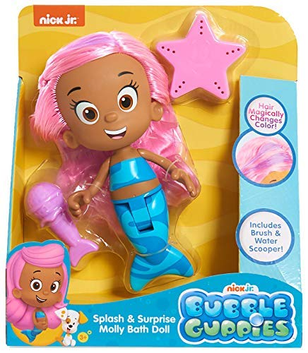 Bubble Guppies Molly Bath Doll ()