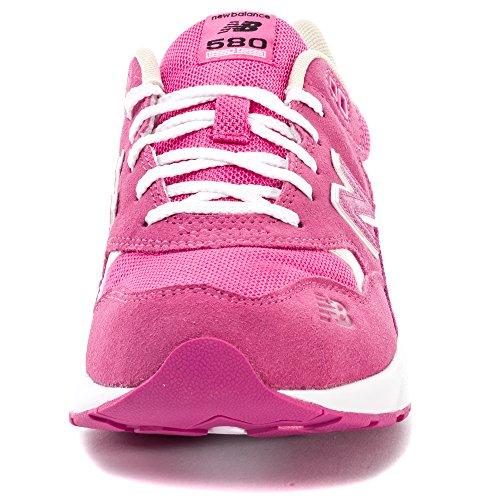New Balance KL580 Kids Trainers Rosa - rosa