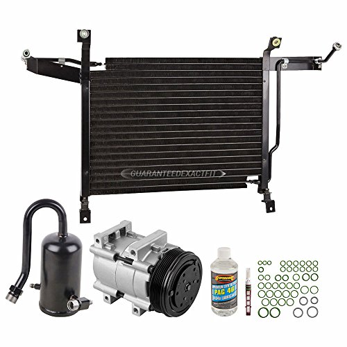 A/C Kit w/AC Compressor Condenser & Drier For Ford Bronco F-150 F-250 F-350 - BuyAutoParts 60-80631CK ()