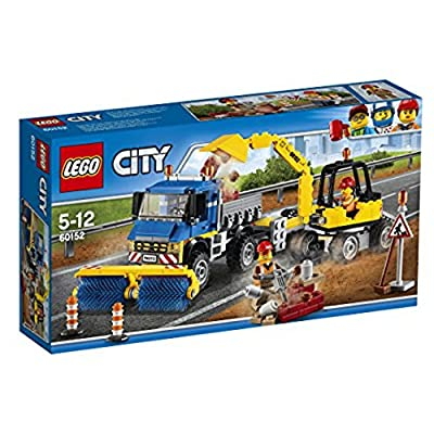 LEGO 60152 Sweeper & Excavator Set: Toys & Games