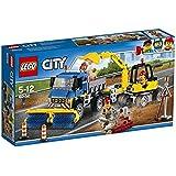 LEGO City 60152 - Straßenreiniger und Bagger, Bausteinspielzeug