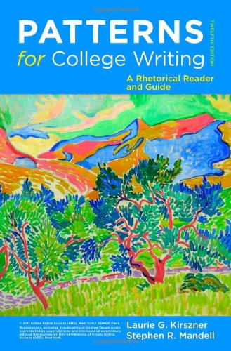 patterns for college writing a rhetorical reader and guide 13th edition