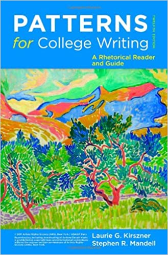 patterns for college writing a rhetorical reader and guide 12th edition 12th edition