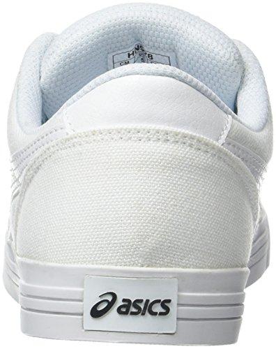 white Blanc Basses Aaron Mixte Baskets white Adulte Asics yqEYXRwE