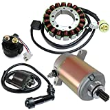 Caltric Stator Starter Solenoid Ignition Coil Fits YAMAHA WOLVERINE 350 YFM350 2002 2003 2004 2005