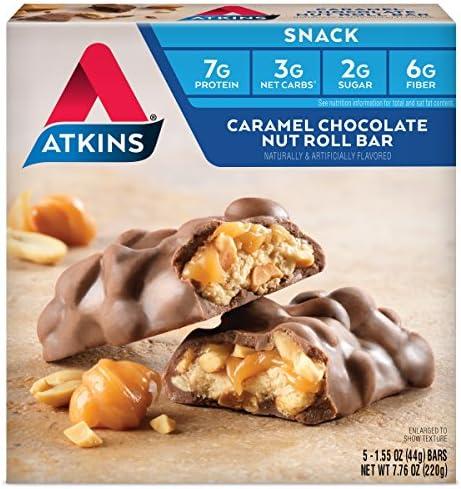 Atkins Snack Caramel Chocolate Count
