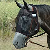 Cashel Quiet Ride Standard Fly Mask No Ears or Nose - Size: Horse