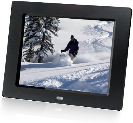HP df810v1 8-Inch Digital Picture Frame Contemporary Black