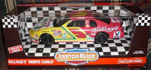 (#7219 Ertl American Muscle Nascar Terry Labonte #5 Kellogg's Monte Carlo 1/18 Scale Diecast )