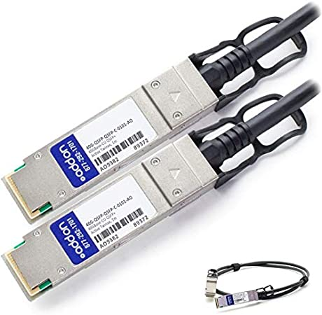 Active DAC Cable for Brocade 100/% Compatible Addon 40G-QSFP-QSFP-C-0101-AO 1M 40GBASE-CU QSFP