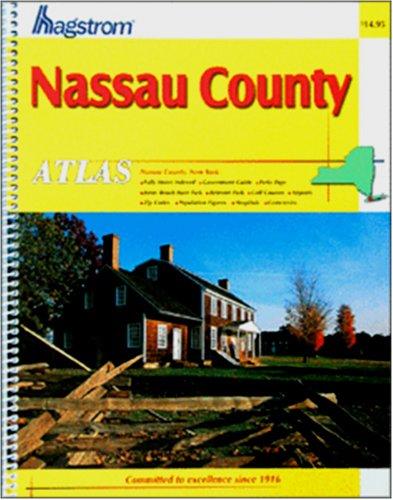 Hagstrom Nassau County NY Atlas: Nassau County, New York (Hagstrom Atlas: Nassau County, New York Large Scale)
