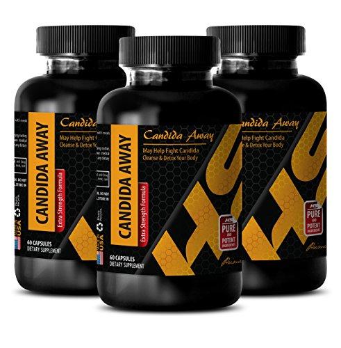 UPC 613583530422, metabolism and energy - CANDIDA AWAY - candida restore - 3 Bottles (180 Capsules)