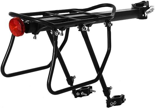Carrier Trasera para Bicicleta Estante máximo de carga 50 kg ...