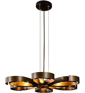 Kreative Industrie Stil Retro Petal Form Eisen Pendelleuchte Persönlichkeit  Design Elegante Hängelampe Passend Wohnzimmer Restaurant Hote