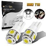96 chevy camaro lights - Partsam 2 x 168 194 T10 5SMD LED Bulbs Car License Plate Lights Lamp White 12V