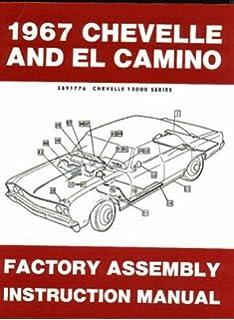 Nova & Impala 1967 CHEVROLET GM Fisher Body Shop Manual 67 Camaro ...