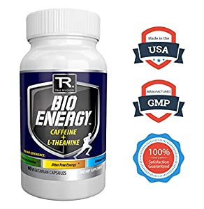 #1 Rated Nootropic Energy Supplement ● 100% Natural And Guaranteed Most Potent Energy Booster And Focus Enhancer ● Powered By Top Rated Nootropic Ingredients L-Theanine (For Focus) + Caffeine (For Energy) - The Most Synergistic Cognitive Performance E