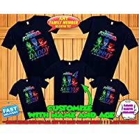 87176689f PJ Masks Birthday Shirt, PJ Masks Custom Shirt, Personalized PJ Masks Shirt,  Pj