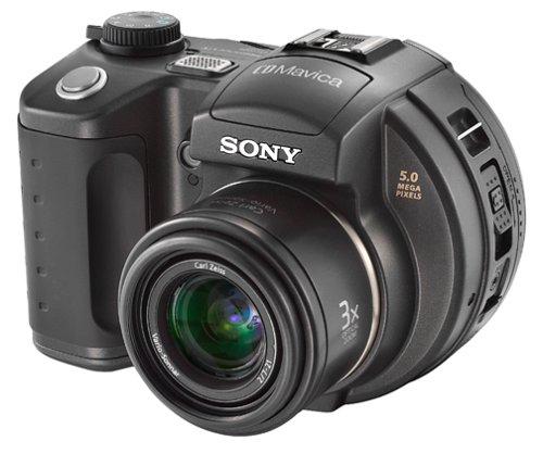 Sony MVCCD500 CD Mavica 5MP Digital Camera w/ 3x Optical Zoo