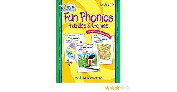 Joyful Learning: Rtg Reproducibles: Fun Phonics Puzzles And Games ...