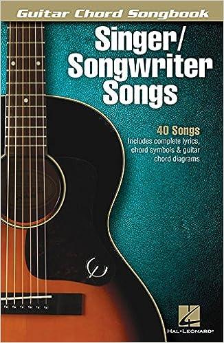 Amazon.com: Singer/Songwriter Songs - Guitar Chord Songbook ...