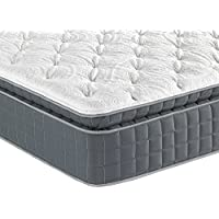 Sleep Inc. 15-Inch BodyComfort Elite 8000 Luxury Hybrid Pillow Top Mattress, King
