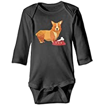 7r4e Baby Corgeek Corgi.PNG Baby Cotton Funny Outfit Long-Sleeve Bodysuit