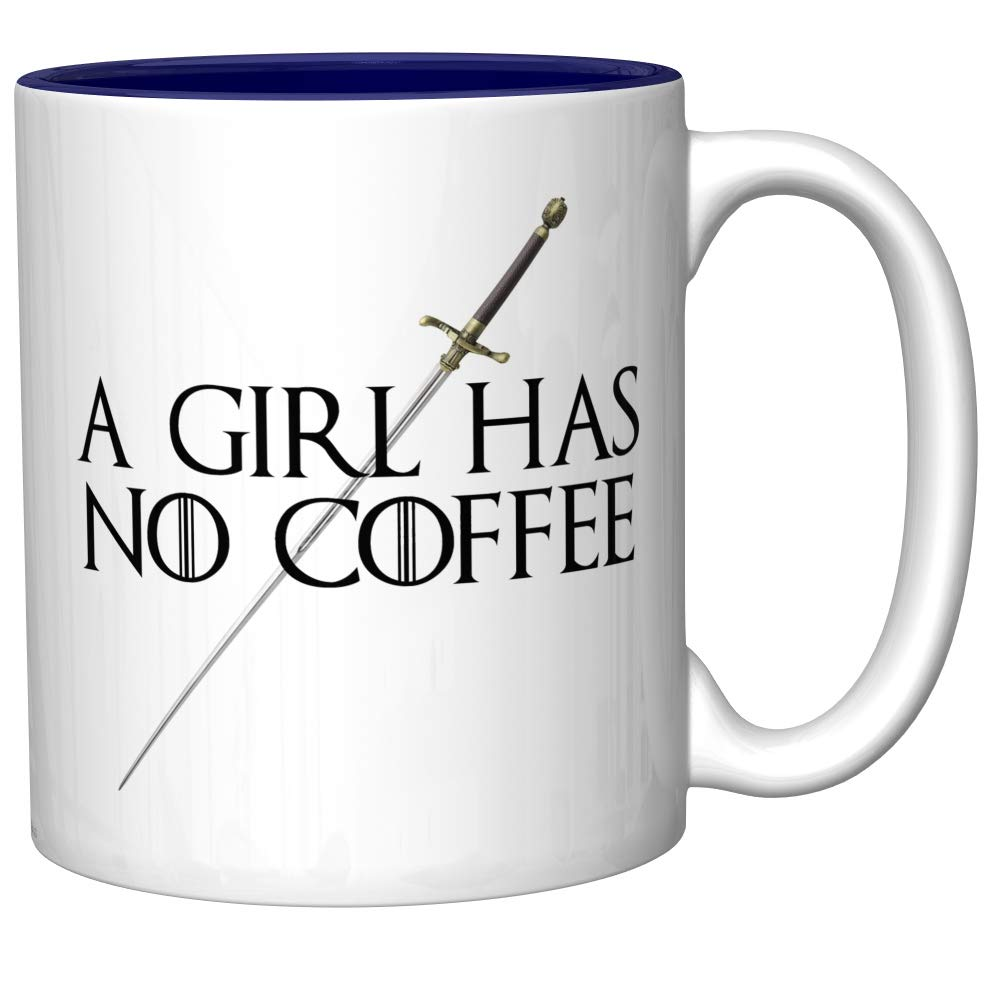 A Girl Has No Coffee With Needle (Arya Stark, Game of Thrones)