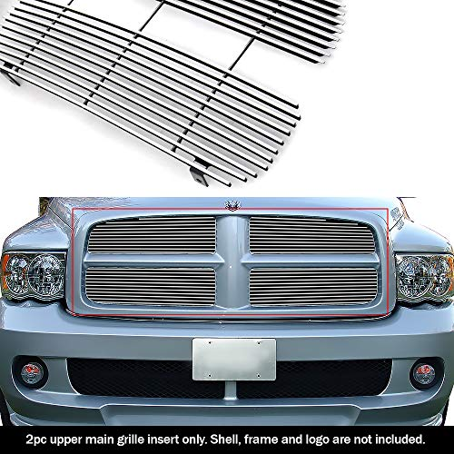(APS Fits 2002-2005 Dodge Ram Main Upper Billet Grille Insert)