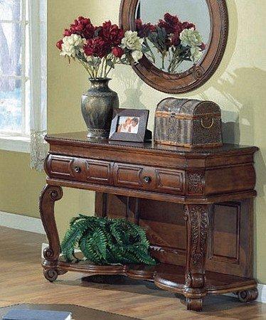 Amazon mahogany sofa table by coaster kitchen dining mahogany sofa table by coaster watchthetrailerfo