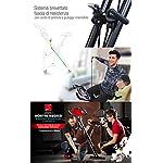 Sportstech-Fitness-Exercise-Bike-con-Console-LCD-Sistema-Pull-Strap-Marchio-di-qualita-Tedesca-Cyclette-con-Sedile-Comfort-Sensori-del-Palmo-Bicicletta-Pieghevole-da-casa-X100-B