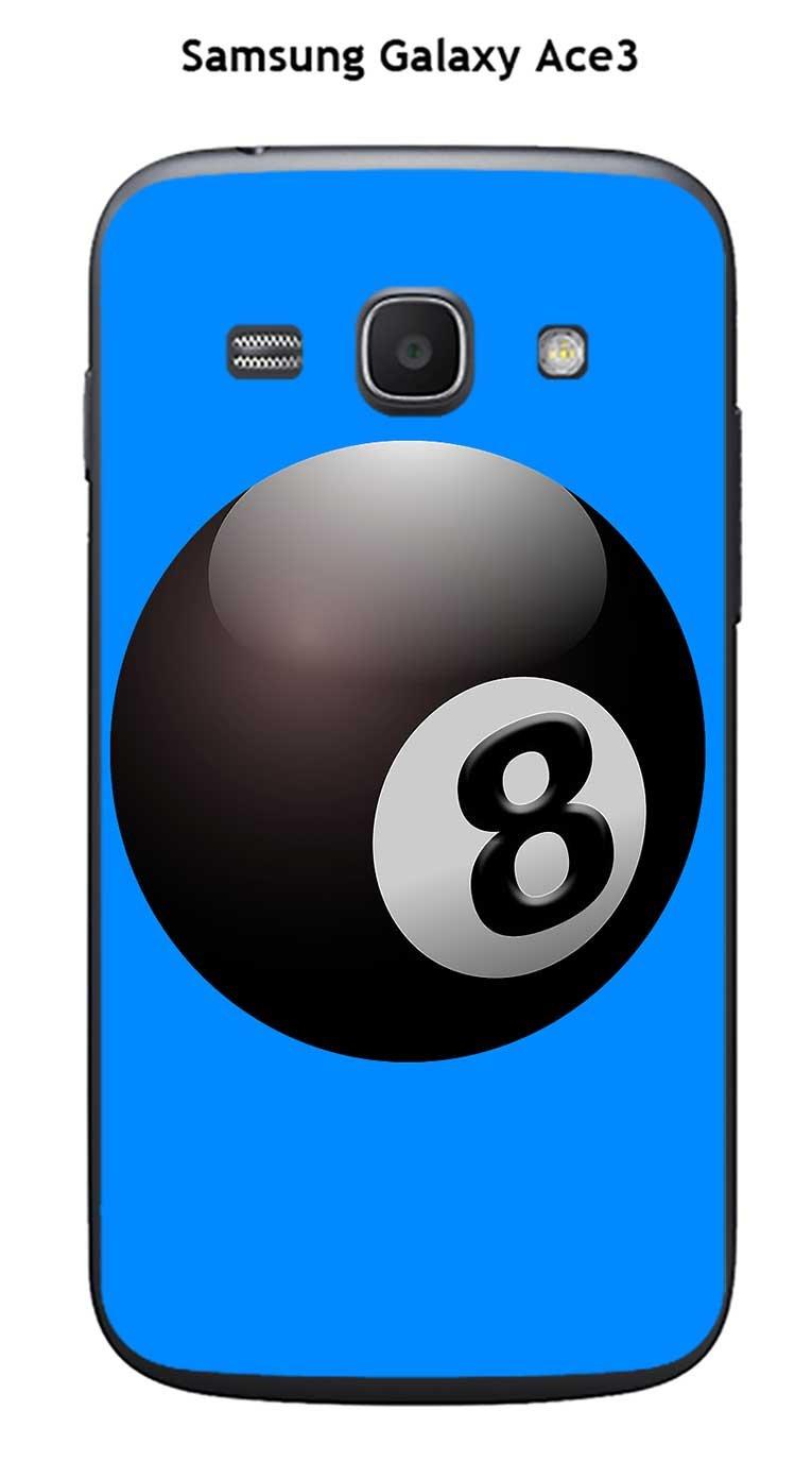 Onozo Carcasa Samsung Galaxy Ace 3 diseño Bola de Billar N ° 8 ...