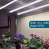 Barrina T5 Grow Lights, Full Spectrum, 2ft 80W