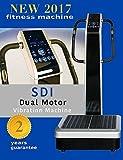 Cheap Whole Body Vibration Machine – Dual Motor by SDI : Commercial (2HP, 440 lbs), Dual Motor, Large Vibrating Platform, USB Programmable