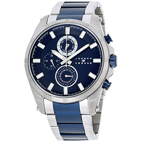 Joseph Abboud Navy Dial Stainless Steel Men's Watch JA3199S648-007