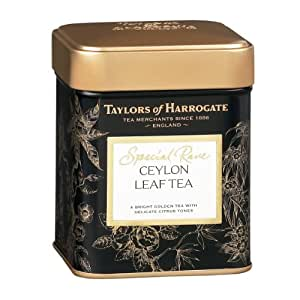 Taylors of Harrogate, Special Rare Ceylon Tea, Loose Leaf, 3.53 Ounce Tins (Pack of 2)
