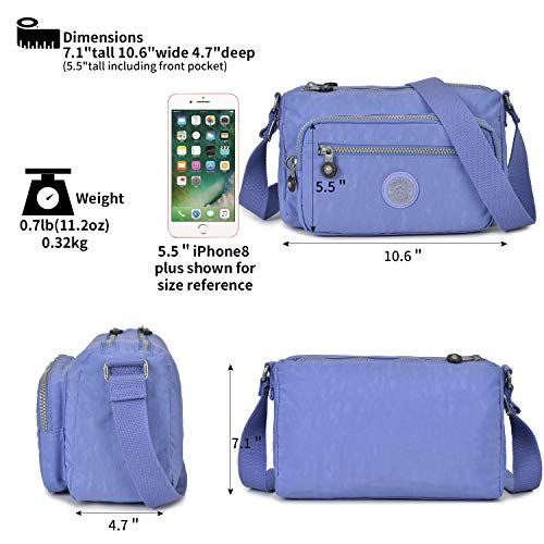 Bags Women lilac Shoulder For Purses Lilac Small Wolfrealm Fashion Crossbody aq0wtP
