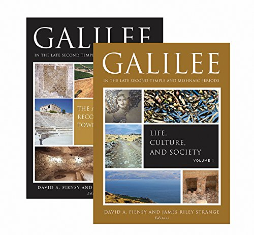 Galilee in the Late Second Temple and Mishnaic Periods: Two-Volume Set